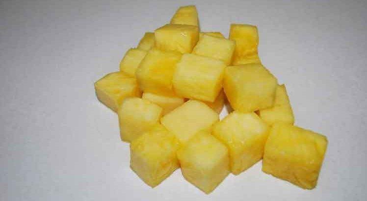 Ovenschotel met Prei en Ananas
